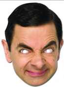 Mr Bean Celebrity Cardboard Mask - Single