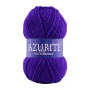 26 broadcasts 10 Balls of Knitting Yarn Wool AZURITE Distrifil 0203 Value 0203 100% Acrylic
