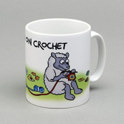Vanessa Bee Hooked on Crochet Mug