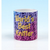 Vanessa Bee World's Best Knitter Knitters Mug