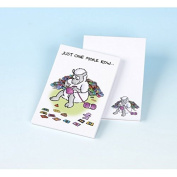 Vanessa Bee Just One More Row Knitters Note Pad