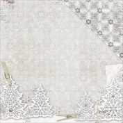 Winter Wishes Double-Sided Cardstock 30cm x 30cm -Wonderland