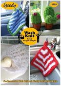 Wendy Home Dishcloths & Accessories Wash Knit Knitting Pattern 5999 Aran