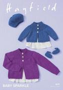 Hayfield Baby Cardigans, Beret & Shoes Crochet Pattern 4659 DK