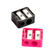 Pair of 2 Way Cosmetic Pencil Sharpeners - Beauty Accessories