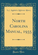 North Carolina Manual, 1935