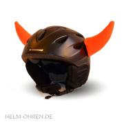 Helmet animal ears for ski, snowboard helmet, children's skiing helmet, motorcycle helmet, the eye-catcher for children and adults