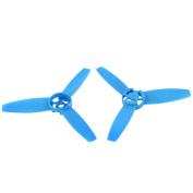 2Pcs 3-Vane 6.5mm Shaft Dia Blue Prop Propeller for RC Model Aircraft