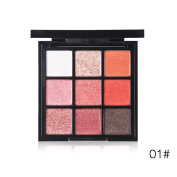 SOMEAS 9 Colour Matte Shimmer Eyeshadow Palette Professional Warm Naked Makeup Eyeshadow Cosmetics
