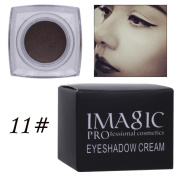 Prevently Brand New 12 Colours Easy to Use Makeup Waterproof Eyeliner Gel Cream Eyes Cosmetic Colour Eye Liner