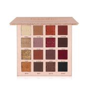 Weicici Matte & Shimmer Eyeshadow 16 Colours Makeup Fine Powder Palette with Mirror