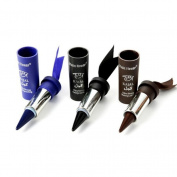 ZycShang Smoky Eyes Eyeliner Solid Thick Black Bold Eyes Liner Gel Pencil Makeup