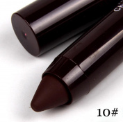 ZycShang Women's Fashion Hot Sale Waterproof Miss Rose Makeup Matte Lip Long Lasting Sweet Colour Lipstick Pencil Lip Stick