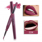 ZycShang MISS ROSE Double-end Lasting Lipliner Waterproof Lip Liner Stick Pencil 8 ColorMISS ROSE Double-end Lasting Lipliner Waterproof Lip Liner Stick Pencil 8 Colour