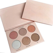 Godhl 6 Colours Eyeshadow Palette Makeup Cosmetics Professional Eye Palette