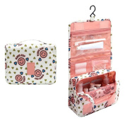 Folding Portable Travel Storage Cosmetic Bag Pouch Hanging Wash Make Up Organiser