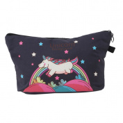 Albeey Unicorn Multi-functional Hand Bag Cosmetic Bag Storage Bag