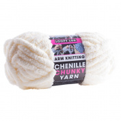 PMS Cream Chenille Super Chunky Arm Knitting 37mtr Ball