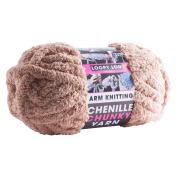 PMS Light Brown Chenille Super Chunky Arm Knitting 37mtr Ball