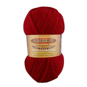 Celine lin One Skein Thick Wool Economy Hand knitting Yarn 100g,Wine red