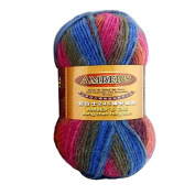 Celine lin One Skein Thick Wool Economy Hand knitting Yarn 100g,Multi-colored10