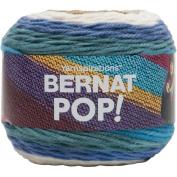 Bernat Birch Bark and Blue Pop Aran Yarn, Acrylic, Multi-Colour, 15 x 15 x 13 cm
