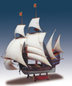 Lindberg 202 1:244 Santa Catarina Portuguese Man-O-War Sailing Ship