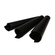X3 Heavy Duty, Reusable, Non Stick Oven Liner, Black, 40cm X 50cm Suitable For All Ovens