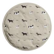Sophie Allport Hob Cover Round - Woof Design