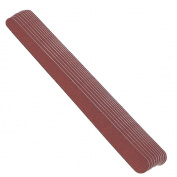 Nippes 10 pcs Nail File 93, Paper, Double Sided