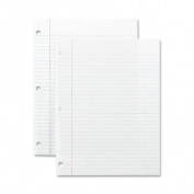 Filler Paper, College Ruled, 16lb., 10-1/2 In. X8 In., 200/Pack, We
