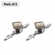 Zhi Jin 2Pcs Square Cabinet Knobs with Backplates Crystal Glass Furniture Drawer Knob Pulls Cupboard Beige Small