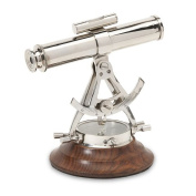 Breakwater Bay Metal Alidade Telescope Compass
