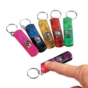 IN-19/531 3-In-1 Whistle, Toy Compass & Light Key Chains Per Dozen