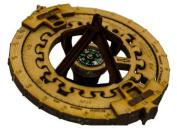 General Symmetrics Compass ALL Sundial Sextant Brain Teaser Game 13cm x 7.6cm