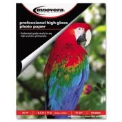 Innovera High-Gloss Photo Paper, 4 x 6, 100 Sheets/Pack
