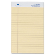 Sparco Coloured Jr. Legal Ruled Writing Pads - Jr.Legal