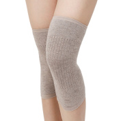 Zelta Unisex Adult Knee Warmer Leg Sleeves Knitted Cashmere