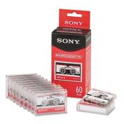 Audio & Dictation Micro Cassette, 60 Minutes (30 x 2), 10/Pack