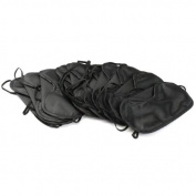 HealthPanion 10 Sleep Masks, Night Mask, Classic Black Eye Masks, Sleeping Eye Mask, Travel Eye Mask, Blackout Eye Mask