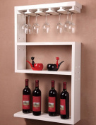 Northern Europe Wine Rack Partition Wall Hanging Shelf Bar Fashion Wine Cabinet Wall Hanging Display Shelves