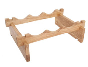 Northern Europe Assembly Wooden Wine Rack Creative Storage Rack Solid Wood Display Shelves