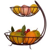 Multi-layer Fruit Basket Living Room Creative Fashion Fruit Plate Simple Chinese Modern Luxury Storage Rack Multi-function Fruit Bowl