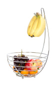 WANG-shunlidaCreative shuiguolan hook wire stainless steel new explosion basket