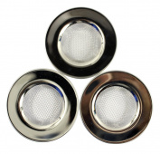 Dianoo 3PCS Stainless Steel Floor Drain, Kitchen Sink Strainer, Metal Drain Strainer - Silver