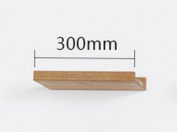 stable Rack, Solid wood living room TV Wall Shelf Wall hanging On the wall bedroom Wall Partition 300 * 100 * 40mm Simple and elegant