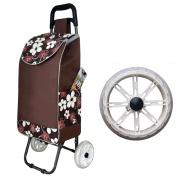 YYF trolley Shopping Cart Buy A Car Small Pull Car Portable Pull Truck Folding Car Lever Bar Home Trolley