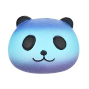 Slow Rising Squishy Toys Mingfa Cute Galaxy Panda Stress Reliever Squeeze Toy Cream Scented Soft Decompression Toys