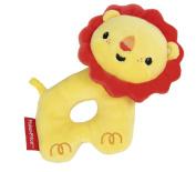 Rattle, Grip Ring Lion Plush Toy
