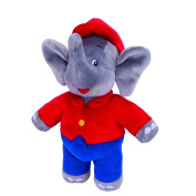 JAZW Ares 10841 Benjamin the Elephant Plush Toy with Sound 18 cm